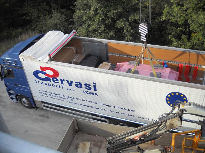 Gervasi trasporti elettromedicali in tutta Italia
